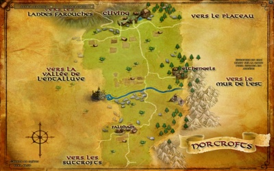 Carte des Norcrofts